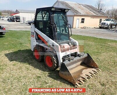 2015 Bobcat S70 Skid Steer Erops Heat Aux Hydraulics Quick Attach 191 Hours
