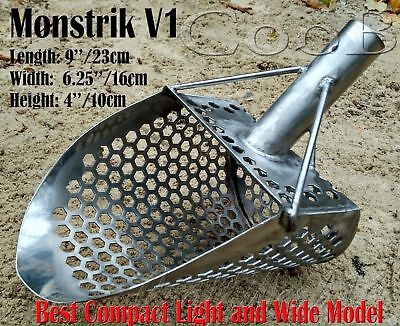 *MONSTRIK V1* by COOB Large Steel Beach Sand Scoop Metal Detecting Hunting Tool
