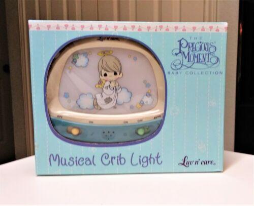 Precious Moments Baby Collection Musical Crib Light