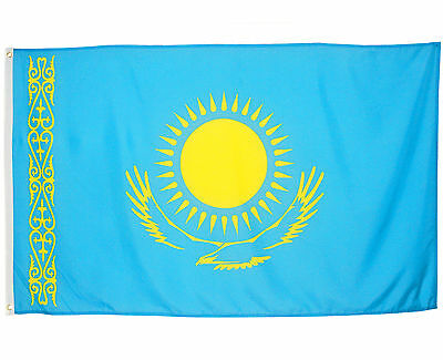 Fahne Kasachstan 90 x 150 cm Flagge Nationalflagge Hissflagge
