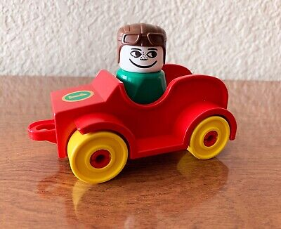Vintage Lego Duplo Sports Car With Driver #2620