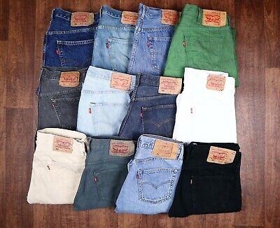 Vintage Levi Levis Jeans 501 GRADE A Unisex Size 26 27 28 29