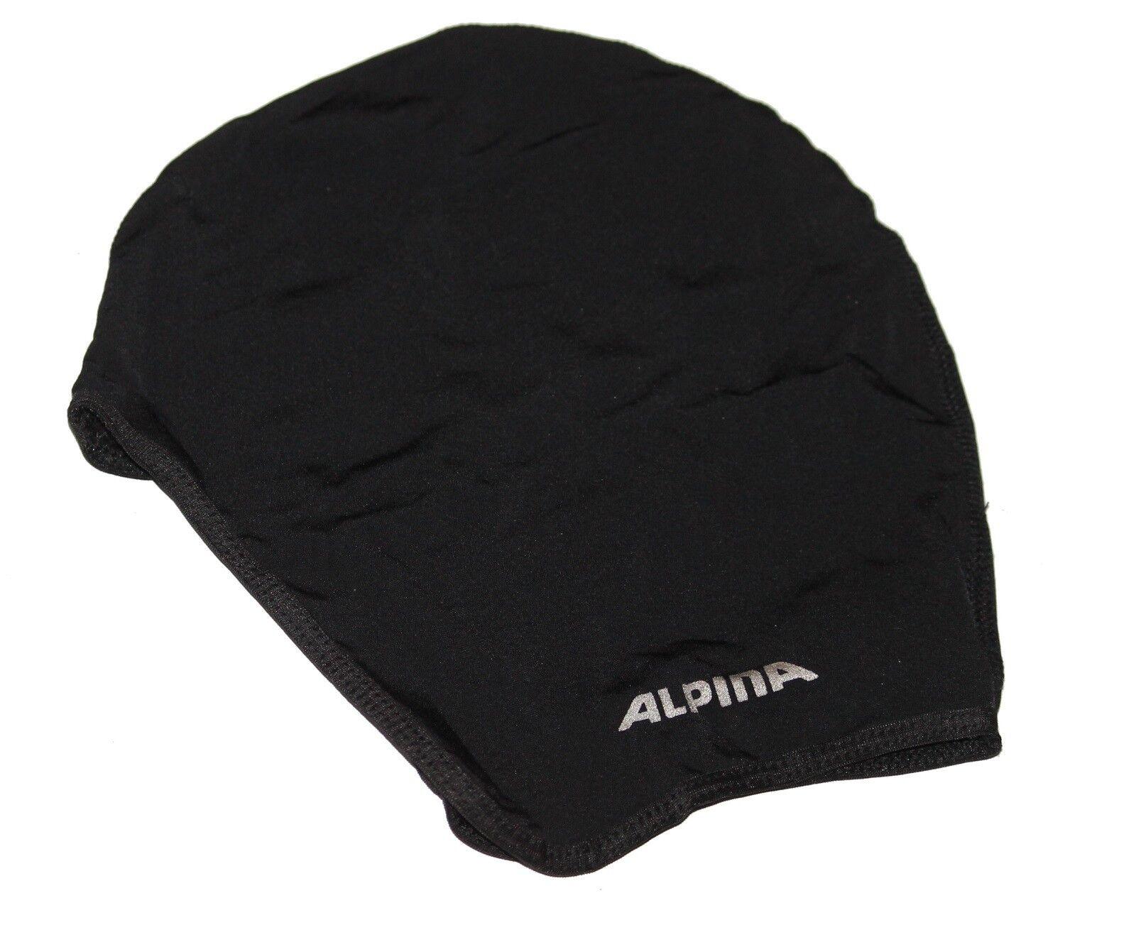 Alpina Under Cover Helmmütze unisize schwarz Fahrrad Mütze