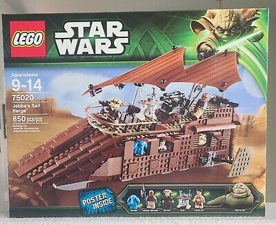 Lego Star Wars 75020 Jabba's Sail Barge New, Sealed