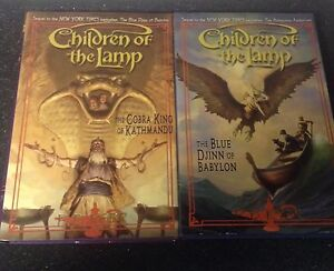 Two books from the Children of the Lamp series