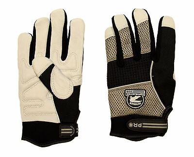 Gatorback 630 Goat Skin Duragrip Gloves. For Electricians Carpenters Framers