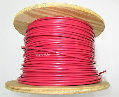 Mtwtew 10 Awg Stranded Copper Electrical Wire -red 5 Ft To 100 Ft
