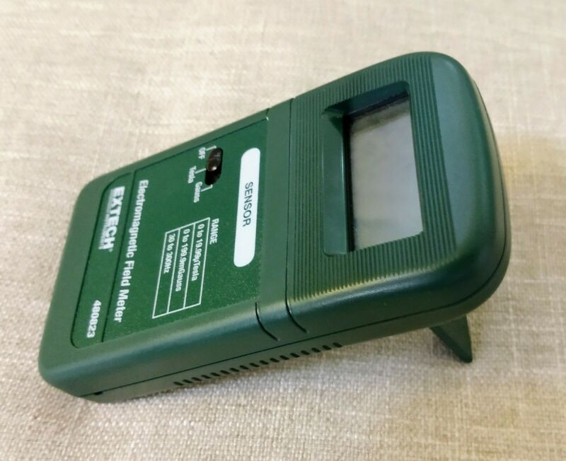 Extech 480823 Extremely Low Frequency Electromagnetic Field Meter - Free Ship