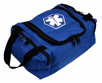 Dixie Ems First Responder Emt Jump Trauma Bag - Blue 10.5x 5 X 8