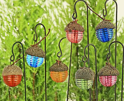 Acorn Cap Fairy Garden Lantern ~ Fairy Garden Accessory ~ Handmade by Jennifer