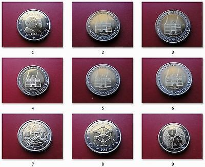 2 Euro Gedenkmünze 2006 - Alle Länder verfügbar