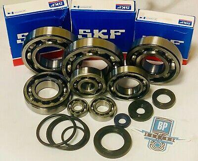 DRZ400 DRZ 400 400S 400E Bearings Crankcase Bottom End Complete SKF Seals Kit