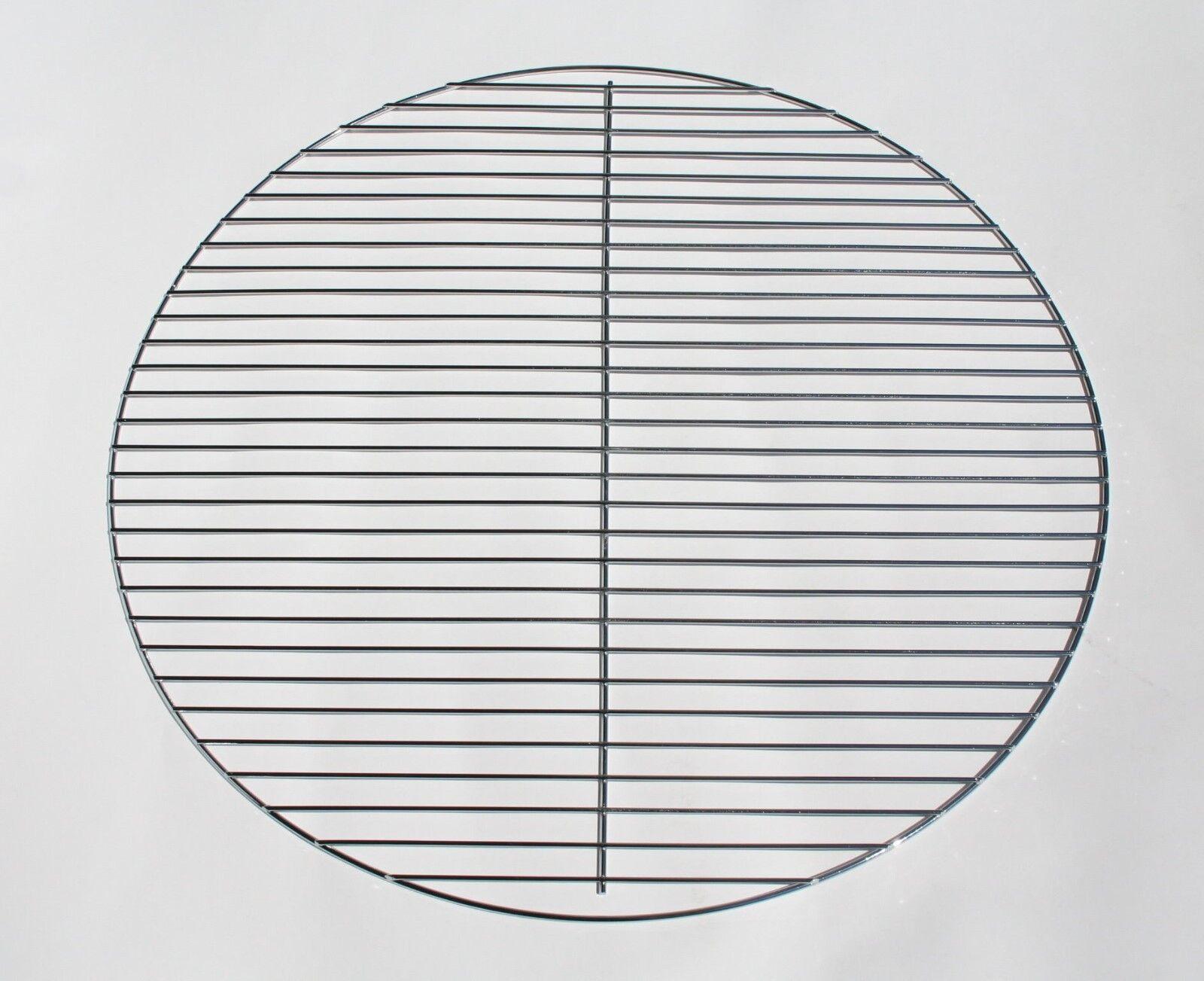 60 cm GGc chrome Grillgitter rund Grillrost Grill Kugelgrill für Schwenkgrill