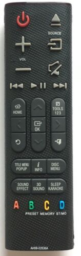New Usbrmt Remote Ah59-02630a For Samsung Home Theater Ht-h6500wm Ht-h7730wm