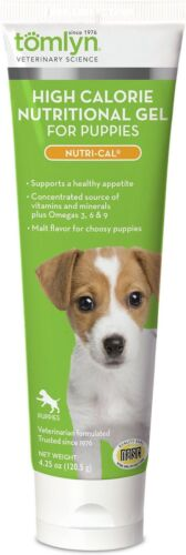 Tomlyn High Calorie Nutritional Gel for Puppies, Nutri-Cal 4.25 oz