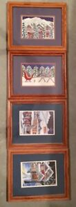 Cori Ross Canadian Artist Picture set of 4