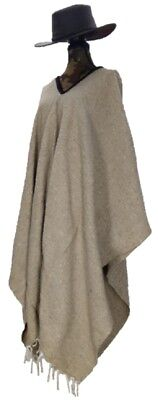Sharpshooter Clint Eastwood Style Texmex Western Party Designer Canvas Poncho](Western Poncho)