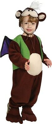 Flying Monkey of Oz Wizard Brown Animal Dress Up Halloween Toddler Child Costume](Kids Flying Monkey Costume)