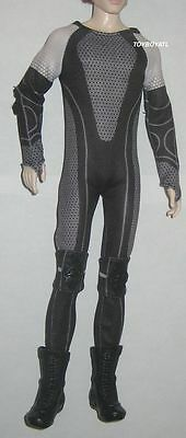 Barbie Hunger Games Catching Fire Peeta Collector Outfit ONLY Uniform Suit NEW](Hunger Games Outfits)