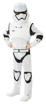Star Wars Episode VII Stormtrooper Deluxe NEU - Jungen Karneval Fasching Verklei