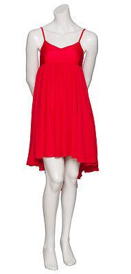 Damen Mädchen Rot Einfarbig Lyrisch Kleid Zeitgenössisch Ballett Tanzen Kostüm
