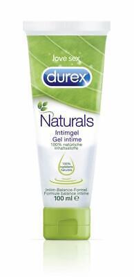 Durex Naturals Gleitgel Intimgel Gleitmittel Gleitcreme Gel Wasserbasis 100ml