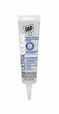 Dap 18387 5 Oz. Ultra Clear All Purpose Waterproof Liquid Rubber Sealant