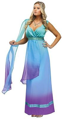 Sea Queen Goddess Costume for Women S/M & M/L New by Fun World 123384 (Goddess Costume For Women)