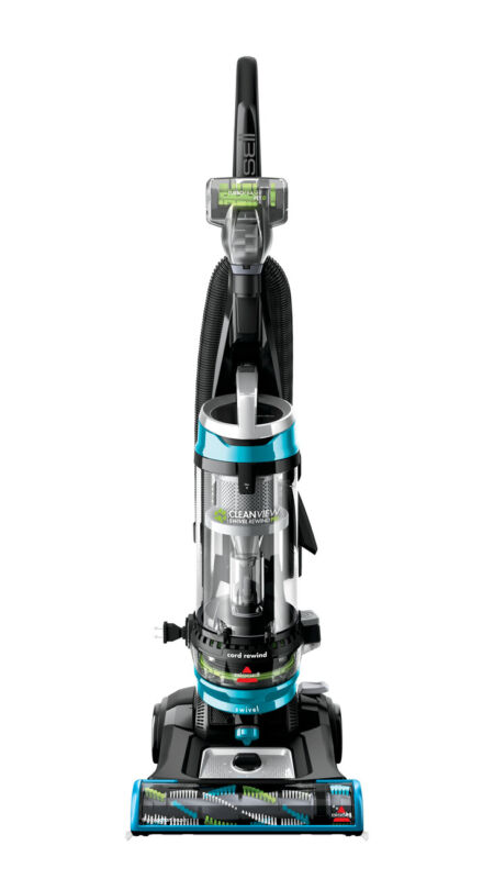 BISSELL CleanView Swivel Rewind Pet Bagless Upright Vacuum Cleaner   2256 NEW