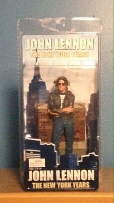 "John Lennon The New York Years 7"" Action Figure, NECA - Near Mint Condition"