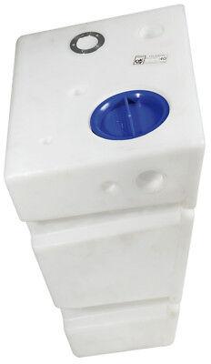 Wasser Tank Montage (Trinkwassertank Trinkwasser Wassertank Tank für die Wandmontage 60 Liter)