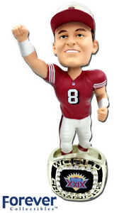 Steve Young San Francisco 49ers 1994 Super Bowl Ring Base NFL Bobblehead