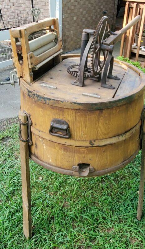 Antique Wooden Washing Machine 1892