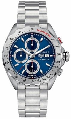 CAZ2015.BA0876 | BRAND NEW TAG HEUER FORMULA 1 CALIBRE 16 BLUE DIAL MEN'S WATCH