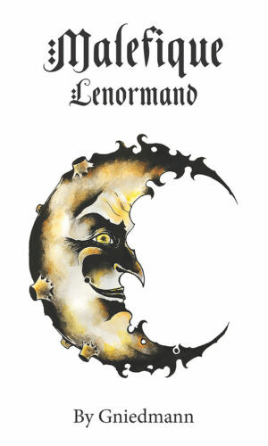 Malefique Lenormand Borderless 36 Cards and 24-page booklet New Free Shipping