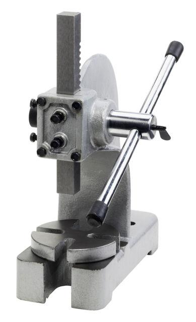 WABECO Drehdornpresse Presskraft 1t Dornpresse Handhebelpresse Werkstattpresse