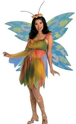 Felicity the Woodland Fairy Pixie Adult Costume - Woodland Fairy Wings