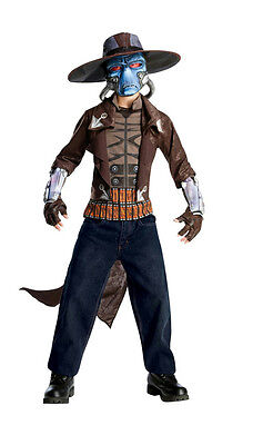 Deluxe Boys Star Wars Clone Wars Cad Bane Halloween Child Costume Size Small - Cad Bane Deluxe Kostüm