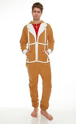 Only Fools And Horses Fleece Lined Jumpsuit Onesie - DEL BOY