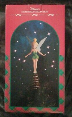 Disney Christmas Collection Tinkerbell Tree Topper With Box Disneyana Holidays