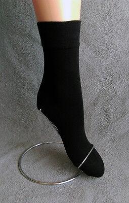 Markenqualität 3 Paar Damensocken schwarz Ohne Gummidruck schadstoffgeprüft