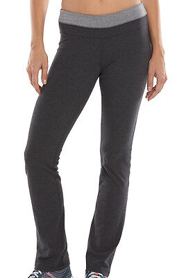 NWT Tek Gear Skinny Casual Gray Workout Pants Women S-Long M-Long L-Long (Gray Workout Pants)