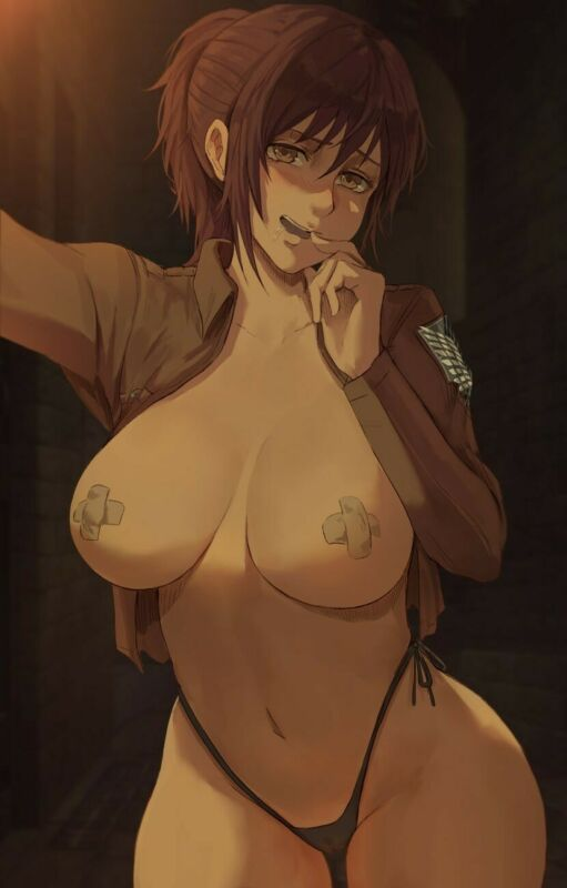 Attack On Titan Poster Sasha Braus Potato Girl Season 3 Sexy Anime Print