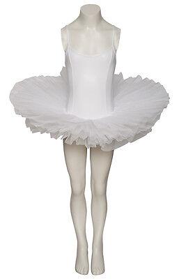 Bianco Cigno Halloween Costume Lucido Metallizzato Danza Tutu Taglie da Katz