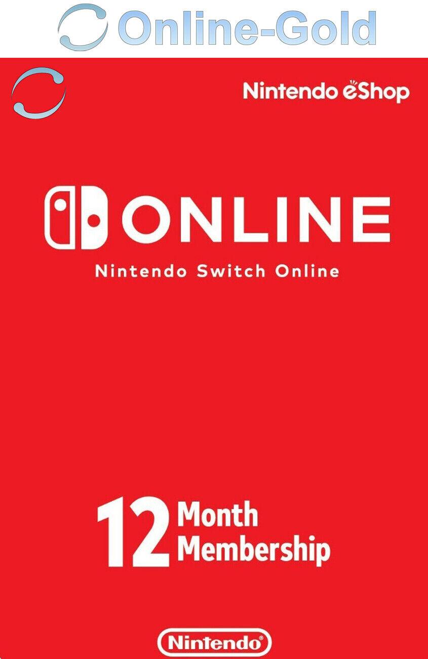 Suscripción de Nintendo Switch Online Key - 12 meses 365 días eShop solo UE [ES]