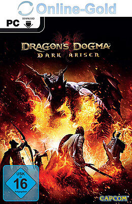 Dragon's Dogma: Dark Arisen Key - PC - Steam Digital Download Code NEU [DE/EU] (Dragon Dogma Dark Arisen)