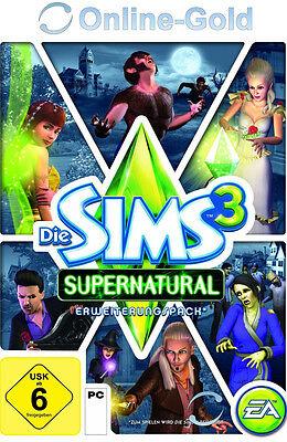 Die Sims 3 - Supernatural Key / EA/ORIGIN Download Code [PC][EU][NEU] Addon (Sims 3 Downloads)