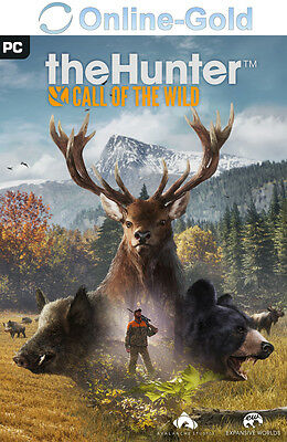 theHunter: Call of the Wild Key - STEAM Digital Download Code PC Game NEU DE EU