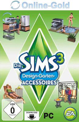 Die Sims 3 - Design Garten Accessoires - Outdoor Living Origin PC Code - EU/DE