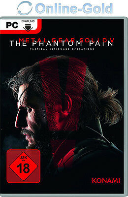Metal Gear Solid V The Phantom Pain Key - STEAM Cd-Key - PC Code MGS 5 DE/EU NEU ()